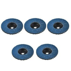 """5pcs 3"""" Grinding Wheels Wood Cutting For Angle Grinder 40/60/80/120 Grit"""