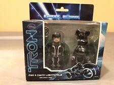 Kubrick Disney Tron Legacy Sam Flynn And Lightcycle Bearbrick Tron Series
