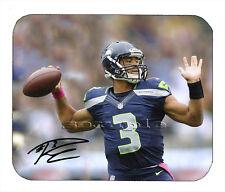 Item#1197 Russell Wilson Seattle Seahawks Facsimile Autographed Mouse Pad