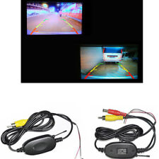 12V 2.4Ghz Wireless Rear View Video Transmitter Receiver For Car Camera Monitor