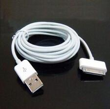 Genuine USB Data Sync Charge Lead Cable for Apple iPad 2 iPhone 4 4S 3GS iPod ZH