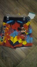 Toddlers boys Mickey Mouse Swim Short 12 Month's
