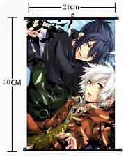 HOT Anime No.6 Shion & Nezumi Wall Poster Scroll Home Decor Cosplay 852
