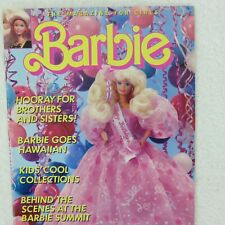 Barbie Magazine for Girls Spring 1991 soft cover Very Good Condition Unread