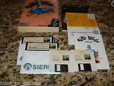 Oil's Well (PC, 1990)  MS-Dos 3.5 & 5.25 Floppy Disks Big Box & Manual (Mint)