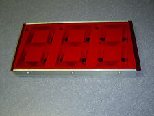 Used Skee Ball Display ORIGINAL Cover For The Score Count Board For Mod. H & S