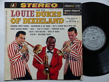 louis armstrong Louie and the Dukes of Dixieland STEREODISC 142 002 FRANCE