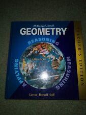 Geometry: Applying, Reasoning, Measuring, Teacher's Edition by Ron Larson|Lau…