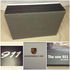 Porsche VIP Promo The New 911 Desk Display Book Sliding Photo Advertising Set