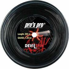 Pro's Pro Devil Spin 16l 1.26mm Tennis Strings 200m Reel