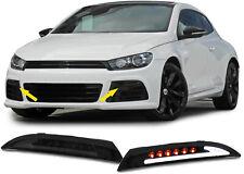 Klarglas LED Blinker mit Standlicht schwarz smoke für VW Scirocco 08-14