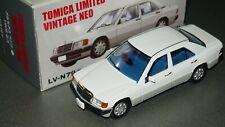 Tomica Limited Vintage Neo LV-N79a Mercedes-Benz 190E White no vw bmw porsche