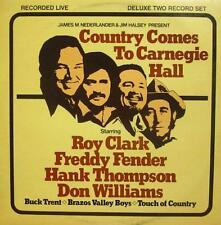 "Thompson/Fender/Clark(2x12"" Vinyl LP Gatefold)Country Comes To Carnegie-VG/VG"