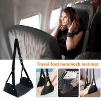 Foot Rest Portable Travel Footrest Hammock Carry Flight Leg Pillow Pad Airplane