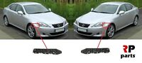 FOR LEXUS IS250 IS350 2006 - 2009 FRONT BUMPER SIDE SUPPORT BRACKET PAIR SET