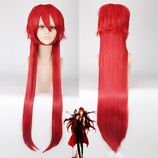 Kuroshitsuji grell sutcliff Anti-alice Cosplay Anime party Wig heat resistant