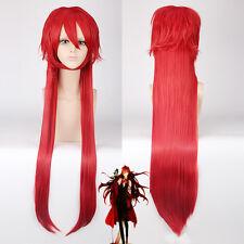 Kuroshitsuji grell sutcliff Anti-alice Cosplay Anime party Wig heat resistant