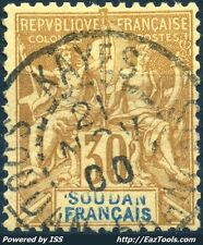 SOUDAN FRANCAIS TYPE GROUPE N° 11 AVEC OBLITERATION