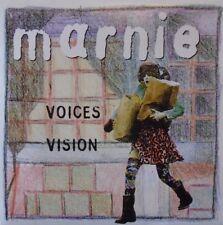 "MARNIE - Voices ~ 7"" Single PS + PRESS INFO"