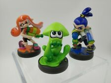 Splatoon Amiibo Inkling 3-Pack Set Boy / Girl / Green Squid [Nintendo]