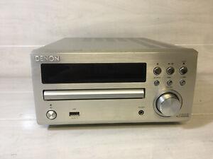 DENON RCD-M39 All in One Midi DAB CD Amp Amplifier - HiFi DAB Radio Amp SILVER