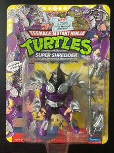 TMNT Super Shredder; 1991 Unpunched
