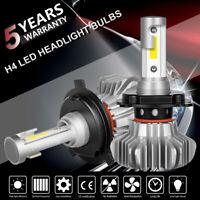 H4 9003 HB2 1080W 162000LM Auto LED Headlight Kit Bulbs Hi/Lo Beam Replace XENON