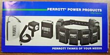 Perrott Power Products 1986 Catalog New Camera Batteries Chargers