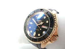 SEIKO DIVER'S AUTOMATIC MODIFIED SUBMARINER SRPD SKX 4r36 'BOAT MASTER ROSE'