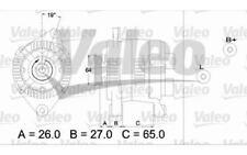 VALEO Alternador Para RENAULT MEGANE CLIO SCENIC EXPRESS DACIA SUPERNOVA 437204