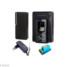 Zutritt mit Fingerabdruck + RFID, Dt. Software, Fingerprint Sebury F2-2 Set1