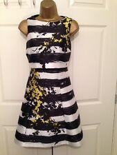 Bnwt Gorgeous Coast Stripe Sleeveless Occasion Dress UK SIZE 10 £149