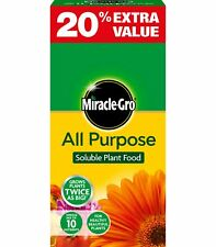 Miracle Gro All Purpose Soluble Plant Food 1.2 kg carton Fertiliser