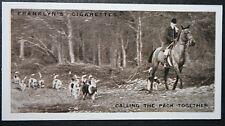 V.W.H. (Earl Bathurst's) Foxhounds   Vintage 1920's Photo Card # VGC / EXC