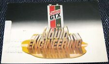 Advertising Automobiles Castrol GTX Liquid Engineering - posted 1980