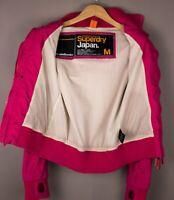 Superdry Damen Freizeit Wasserfest Mantel Jacke Größe M ASZ1003