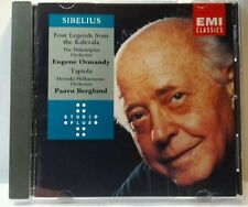 "Sibelius: Lemmink""inen Suite; Tapiola (CD, Jun-1994, EMI) (cd6563)"