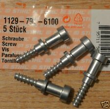 Four Genuine Stihl MS200T MS201T Anti AV Rubber Screws 1129 791 6100 Tracked