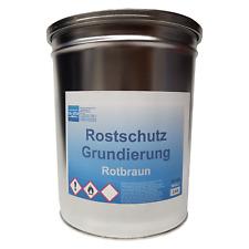 Rostschutz Grundierung Zinkphosphat Metallgrund rotbraun 3Kg Norm Qualität