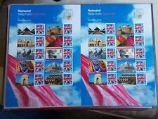 2011 Hello Indipex New Delhi Full Royal Mail Smiler Sheet - LS76 - Superb U/M