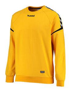 Hummel Auth. Charge Cotton Sweatshirt Handball Gr. M XL Yellow Art. 03709 5001