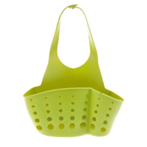 Hanging Storage Drain Basket Portable Sink Organizer Rack Sponge Holder Kitchen