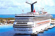 Postcard Cruise Ship Liner Carnival Triumph Carnival Corporation & PLC Q78