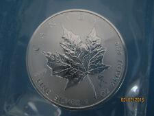 """AQUARIUS PRIVY ROMAN ZODIAC"" $5 PURE.9999 1 OZ CANADA 2004 SILVER MAPLE LEAF"