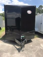 2021 7x14Ta Enclosed Cargo Trailer *Blackout Edition*