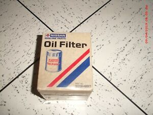 Nissan NOS genuine parts oil filter - part 15208-H8911, made in Japan, not used