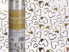(3,99 €/ QM ) CUORI ORO Tabella Corridori ALTRI panno tessuto decorativo, rotolo