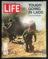 LIFE MAGAZINE - March 12 1971 - VIETNAM WAR IN LAOS / Sister Fuzz / James Taylor