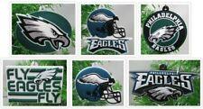 Philadelphia Eagles Christmas Ornaments 6 Piece Set  NFL Ornaments  BRAND NEW