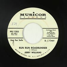 Northern Soul 45 - Jerry Williams - Run Run Roadrunner - Musicor - mp3